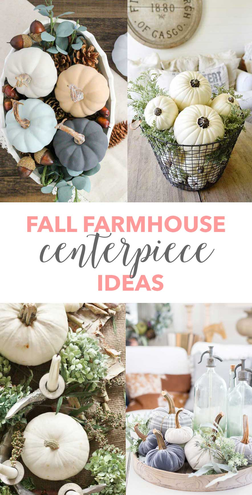 Farmhouse Fall Table Centerpieces A Heart Filled Home