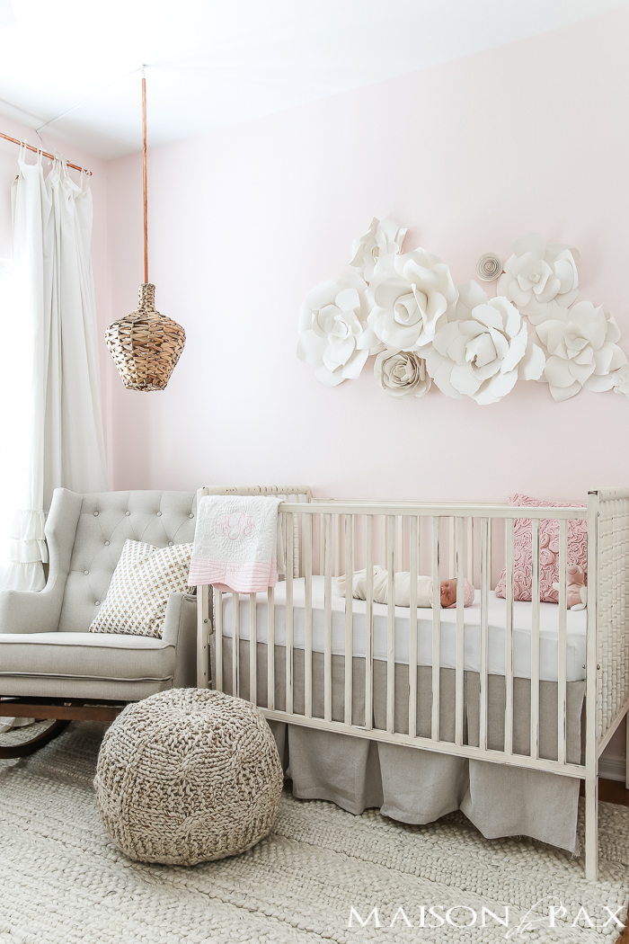 Baby Room Accessories: Inspiring Farmhouse Nurseries - A Heart Filled Home